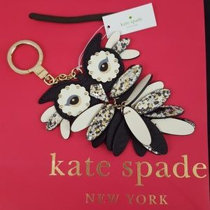 NWT Kate Spade Owl FOB
